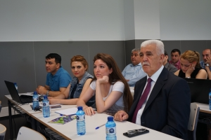 Rector and co-workers of Azerbaijan Technological University  participated in training in Spain