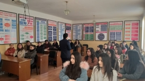 Training was provided at UTECA for students in the framework of ERASMUS + EQAC project