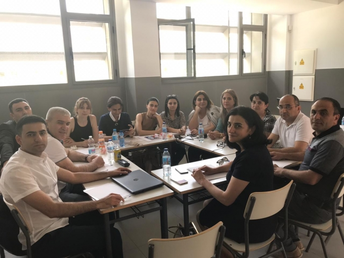 AzUAC representatives visited business trip to Alicante, Spain, within the Erasmus + project.