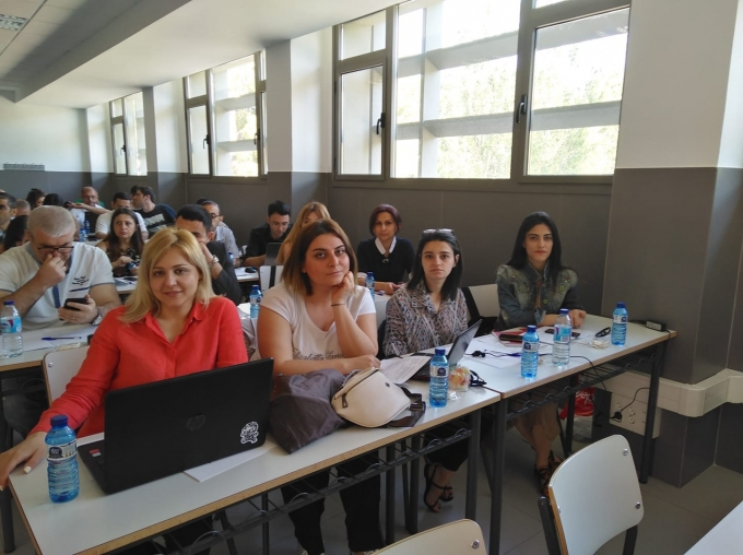 ACU staff took part at the training in Spain within ERASMUS+ EQAC project