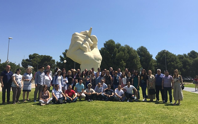EQAC project team participated at study visit organized by University of Alicante
