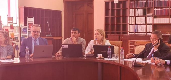 UTECA EQAC team participated in a training at Baku Business University