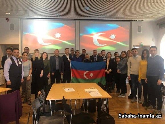 SDU Nümayandəsi İsveç Texnologiya Institutunda (Stokholm) beynelxalq telimde