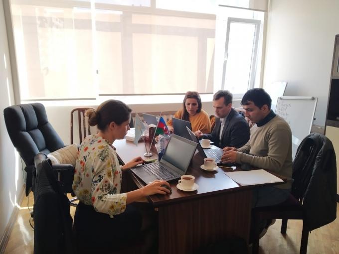 UTECA nümayəndəsi Bakı Biznes Universitetində avropalı təhsil ekspertləri ilə birlikdə