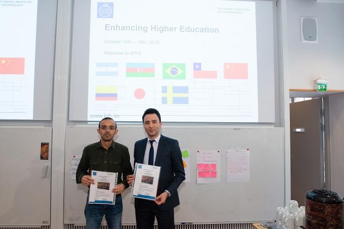 Odlar Yurdu Universitetinin əməkdaşları İsveç Krallığının Kral Texnologiya Universitetində keçirilən beynəlxalq təlimlərdə iştirak etmişdir