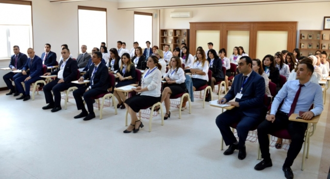 Info day and monitoring meeting was held at Nakhchivan University.