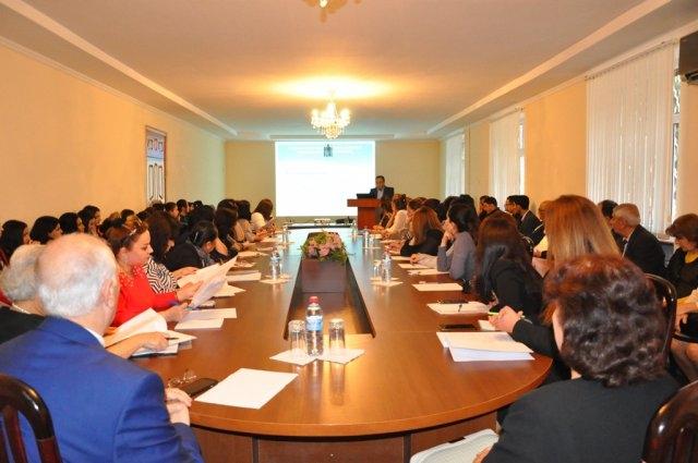 Mingəçevir Dövlət Universitetinin əməkdaşlarına  ESG standartları üzrə seminar-treninq keçirilib