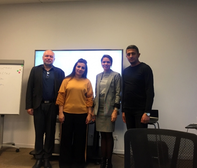 THE NEXT EQAC ERASMUS + TRAINING WAS HELD AT SMK UNIVERSITY IN LITHUANIA