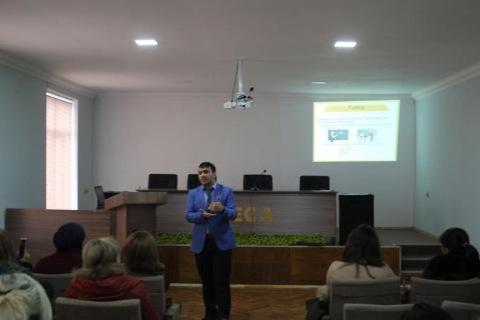 Azərbaycan Texnologiya Universiteti (UTECA) silsilə təlimlərə davam edir.
