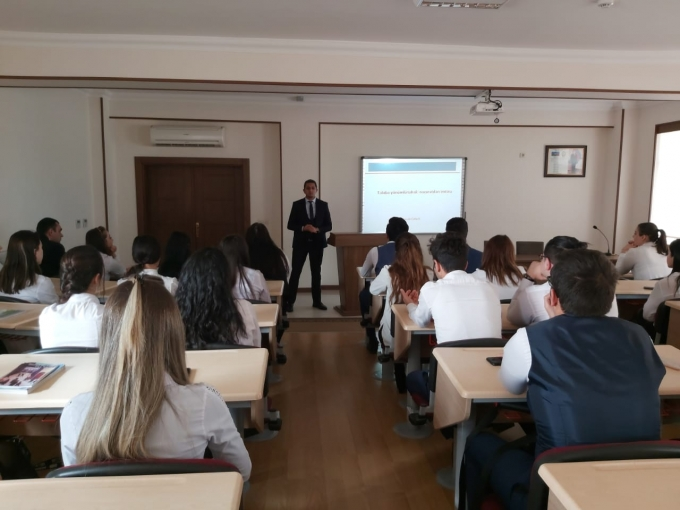 """New training for students was held at """"Nakhchivan"""" University"""