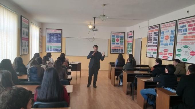 Azərbaycan Texnologiya Universiteti tələbələrinə ERASMUS+EQAC layihəsi çərçivəsində təlim təşkil olunmuşdur