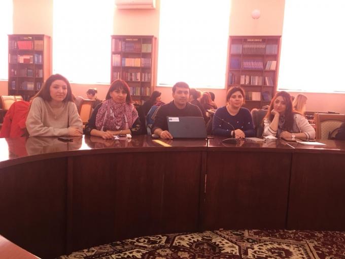 UTECA-nın müəllim kollektivi avropalı təhsil ekspertləri ilə təlimdə iştirak edirlər.