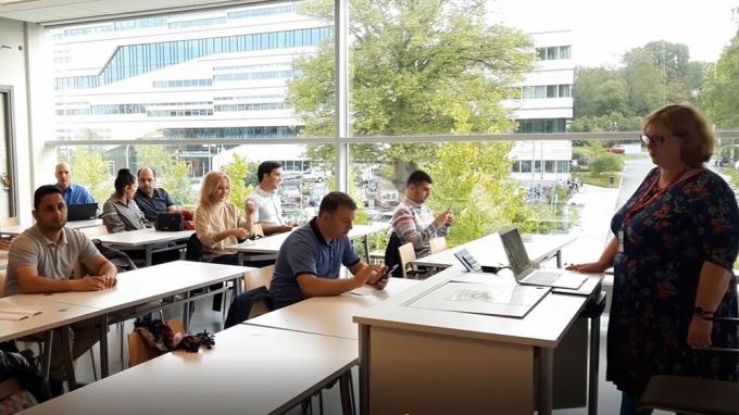 Сотрудники Гянджинского Государственного Университета участвовали в международном тренинге в Швеции